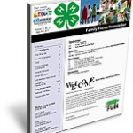 4-H Family Focus Newsletter Cover